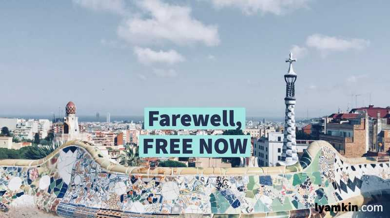 Farewell, FREE NOW